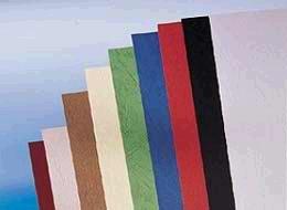 Ledergenarbter Karton, A4, 100 Stck. grün