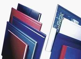 Buchbindemappe Softcover A4 für 36-70 Blatt,   schwarz, VE 10 Stück